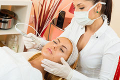 Facial treatment Royalty Free Stock Photo