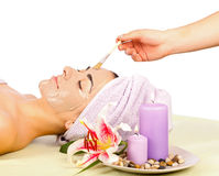 Facial Treatment Stock Photography