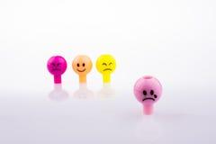 Facials expressions Stock Images