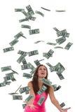 Facile faccia i soldi Immagini Stock