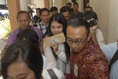 FACILIDAD DE LA INFLACIÓN DE INDONESIA Imagen de archivo libre de regalías