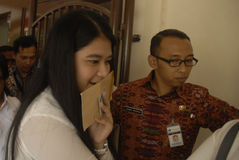 FACILIDAD DE LA INFLACIÓN DE INDONESIA Imagen de archivo