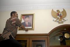 FACILIDAD DE LA INFLACIÓN DE INDONESIA Fotos de archivo libres de regalías