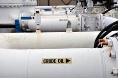 Facilidade da bomba de areias do petróleo Imagens de Stock
