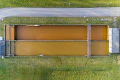 Facilidade da limpeza da água Imagens de Stock