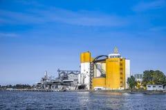 Facilidade de Malteurop e baía de carga Imagens de Stock