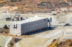 Facilidade do armazenamento de um sector mineiro Imagem de Stock Royalty Free