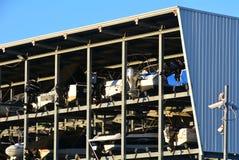 Facilidade do armazenamento do barco Imagens de Stock Royalty Free