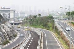 Facilidades do tráfego Imagem de Stock