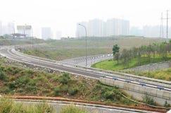 Facilidades do tráfego Fotografia de Stock
