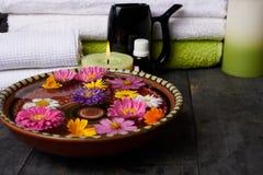 Facilidades para tratamentos dos termas no salão de beleza Fotos de Stock