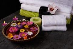 Facilidades para tratamentos dos termas no salão de beleza Fotografia de Stock Royalty Free
