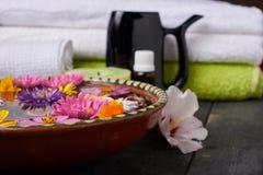 Facilidades para tratamentos dos termas no salão de beleza Imagens de Stock