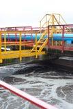 Facilità di trattamento delle acque Fotografia Stock Libera da Diritti