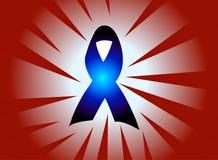 facilite la bande d'HIV Images stock