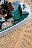 Facilities of boat inside Stock Images