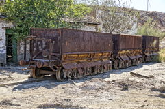 Facilities freight wagon. Stock Photo
