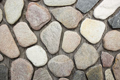 Facing brick travertine marble. Facing brick travertine colored marble Royalty Free Stock Photography