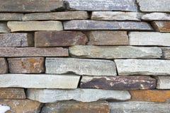Facing brick travertine marble. Facing brick travertine orange marble Royalty Free Stock Photos