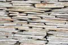 Facing brick travertine marble. Facing brick travertine orange marble Royalty Free Stock Photo
