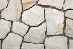 Facing brick travertine marble. Facing brick travertine white marble Stock Photos