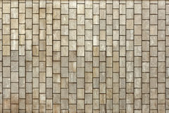 Facing gray tiles as a vintage background Royalty Free Stock Photo