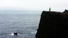 Facing the ocean Stock Photography