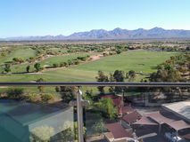 Facing South On 14th Floor Of Talking Stick Resort Royalty Free Stock Images