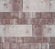 Facing tiles, background. Facing tiles, seamless background texture Royalty Free Stock Photography