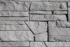Facing of wall Royalty Free Stock Image