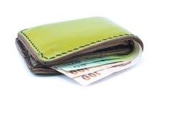 Fack och pengar Royaltyfri Fotografi