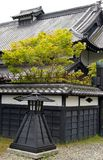 Fackel auf aus alter Zeit Japaner Stockbild