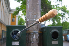facket återanvänder paraplyet Fotografering för Bildbyråer