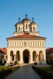 Facklig domkyrka i Alba Iulia, Rumänien Royaltyfri Foto