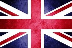 Facklig flagga, Union Jack, kunglig facklig flagga royaltyfri illustrationer