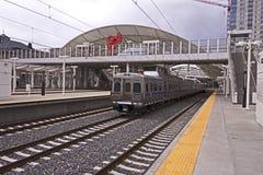 Facklig station Arkivbild