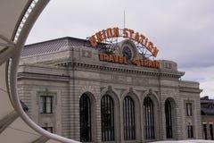Facklig station royaltyfri foto