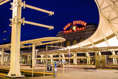 Facklig station royaltyfria foton