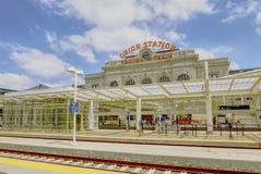 Facklig station Arkivfoton
