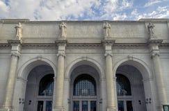 Facklig station för Washington DC arkivfoto