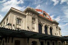 Facklig station i i stadens centrum Denver, Colorado Arkivfoton