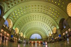 Facklig station i Washington DC Royaltyfri Bild