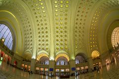 Facklig station i Washington DC Royaltyfria Foton