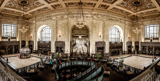 Facklig station - Kansas City royaltyfria foton