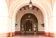 Facklig station, Los Angeles Royaltyfri Bild