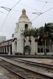 Facklig station (Santa Fe Depot) San Diego Arkivfoto