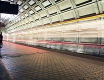 Facklig stationstunnelbanastation Royaltyfria Bilder