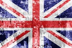 Fackliga Jack Flag royaltyfri illustrationer