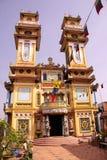 fackluc tempel vietnam Royaltyfri Fotografi