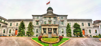 Facoltà dell'università McGill delle arti a Montreal, Canada immagine stock libera da diritti